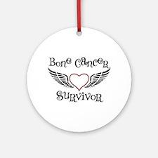 Bone Cancer Survivor Ornament (Round)