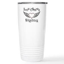 Bone Cancer Survivor Travel Mug