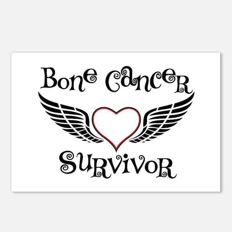 Bone Cancer Survivor Postcards (Package of 8)