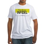 New Jersey Infidel Fitted T-Shirt