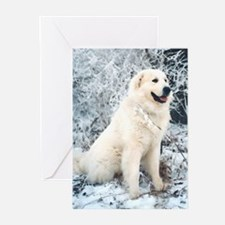 Great Pyrenees Cards, pk of 10,WinterWood
