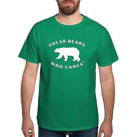 Polar Bears Who Cares? T-shirt
