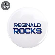 "reginald rocks 3.5"" Button (10 pack)"