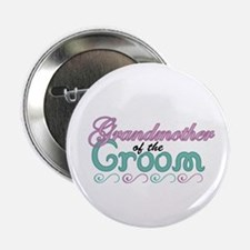 """Grandmother of the Groom 2.25"""" Button"""