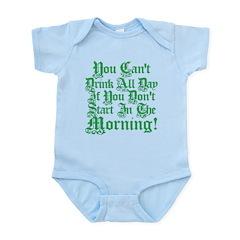 Irish Drinking Humor Infant Bodysuit
