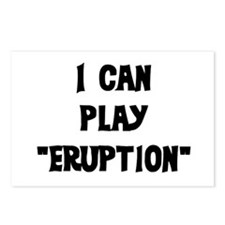 I CAN PLAY ERUPTION Postcards (Package of 8)