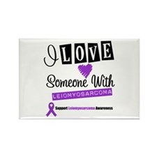 Leiomyosarcoma Support Rectangle Magnet
