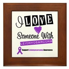 Leiomyosarcoma Support Framed Tile