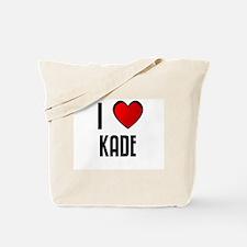 I LOVE KADE Tote Bag