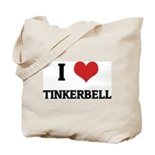 I Love Tinkerbell Tote Bag