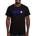 Retro Men's Fitted T-Shirt (dark)