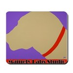 Yellow Lab Profile Mousepad W/logo