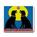 Peace Sit-In Mousepad W/logo