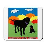 Mama's Boy Mousepad W/logo