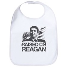 Raised on Reagan Bib