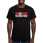 No War is a good War Men's Fitted T-Shirt (dark)