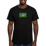 American Patriots Men's Fitted T-Shirt (dark)