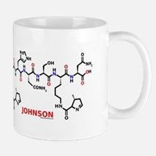 Johnson name molecule Mug