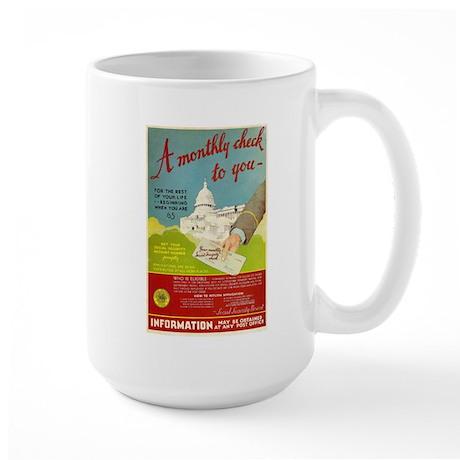Social Security Large Mug