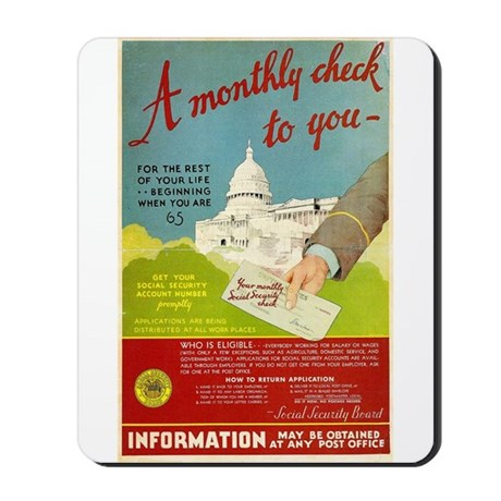 Social Security Mousepad