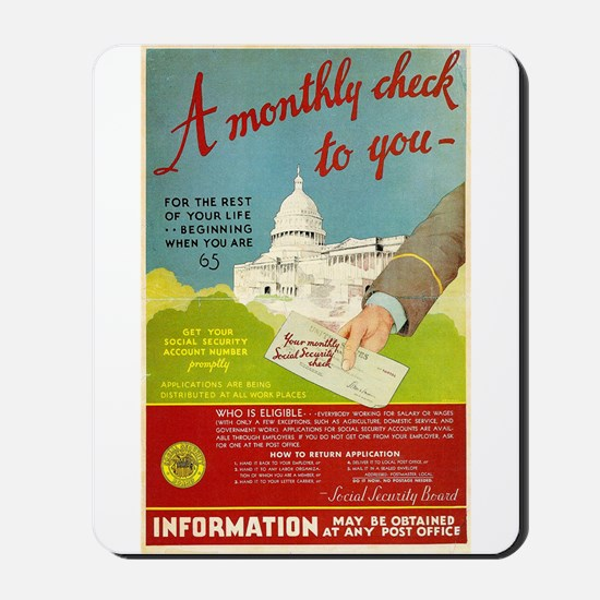 Social Security Mousepad