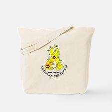 Flower Ribbon SARCOMA Tote Bag