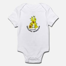 Flower Ribbon SARCOMA Infant Bodysuit