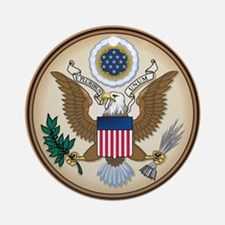 Great Seal Ornament (Round)