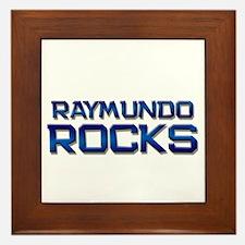 raymundo rocks Framed Tile
