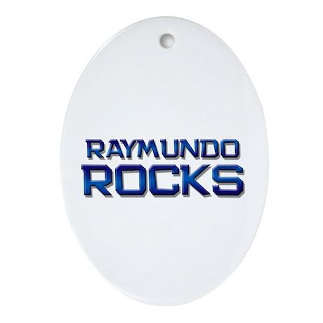 raymundo rocks Oval Ornament