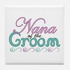 Nana of the Groom Tile Coaster