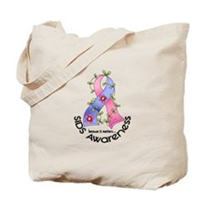 Flower Ribbon SIDS Tote Bag