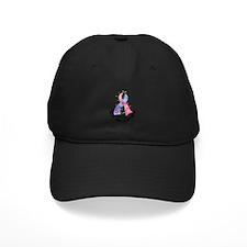 Flower Ribbon SIDS Baseball Hat