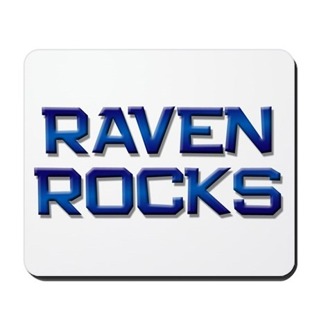 raven rocks Mousepad