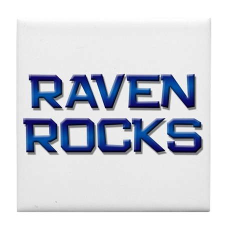 raven rocks Tile Coaster