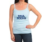 raul rocks Jr. Spaghetti Tank