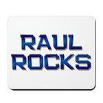 raul rocks Mousepad