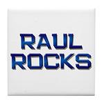 raul rocks Tile Coaster