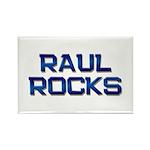 raul rocks Rectangle Magnet (10 pack)