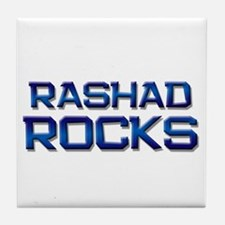 rashad rocks Tile Coaster