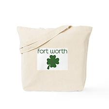 Fort Worth shamrock Tote Bag