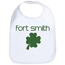 Fort Smith shamrock Bib