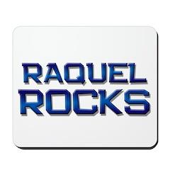 raquel rocks Mousepad