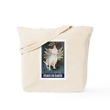 Bull Terrier Angel Tote Bag