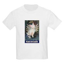 Bull Terrier Angel Kids T-Shirt