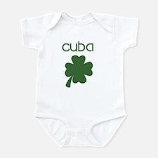 Cuba shamrock Infant Bodysuit