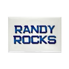 randy rocks Rectangle Magnet