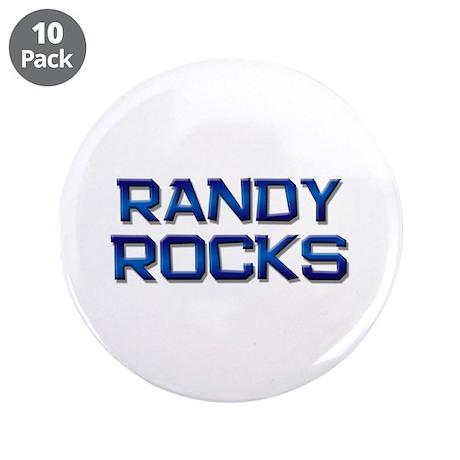 "randy rocks 3.5"" Button (10 pack)"