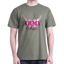 Army Sister Wings T-Shirt