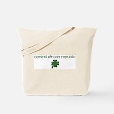 Central African Republic sham Tote Bag